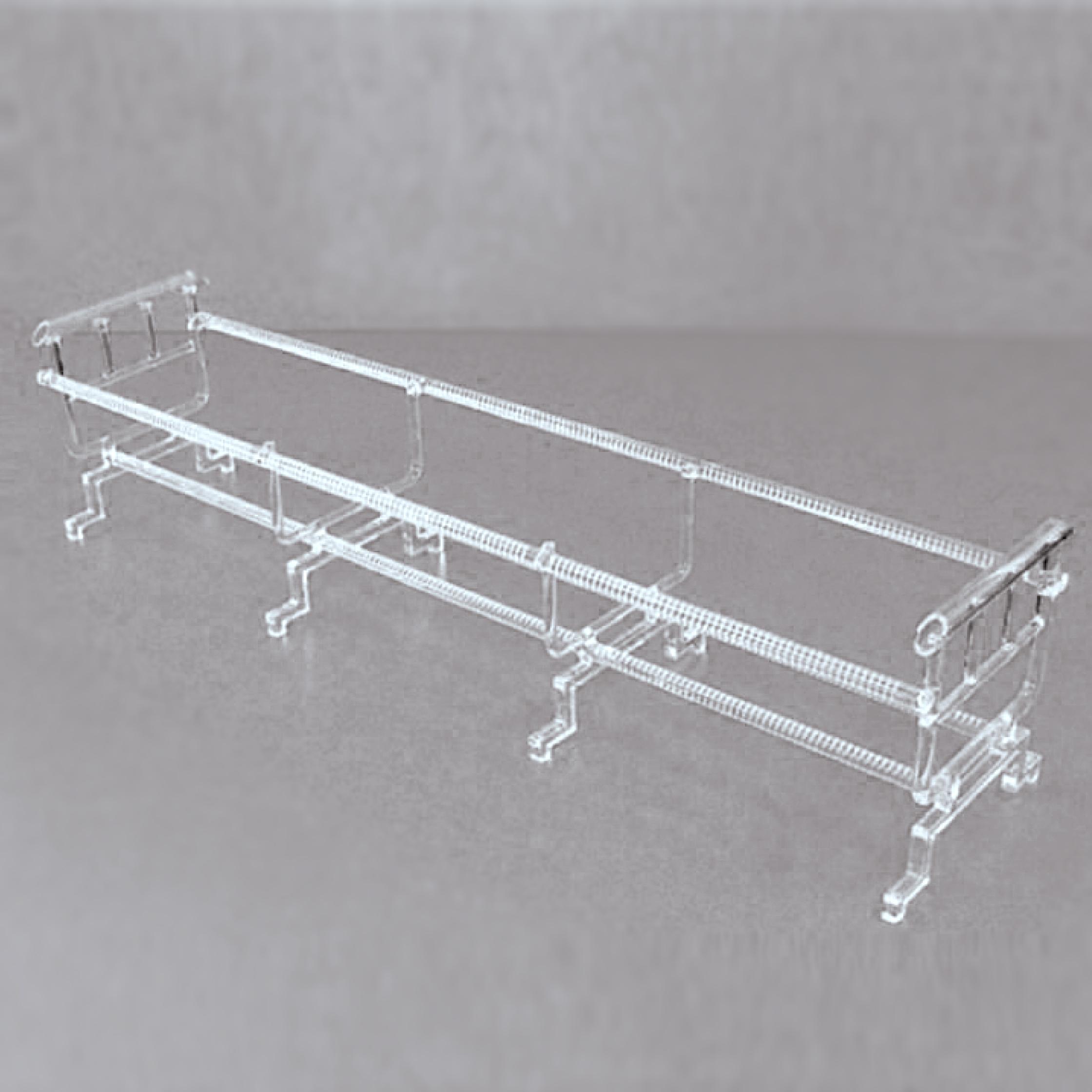 Quartz glass semiconductor products - quartz boat