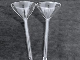 Quartz triangle funnel
