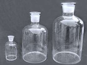 Quartz reagent bottle