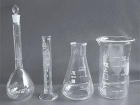 Quartz measuring cylinder